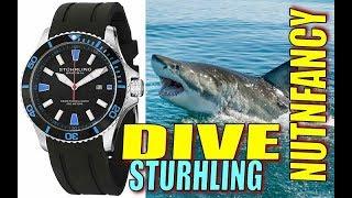 Sturhling AquaDiver Watch