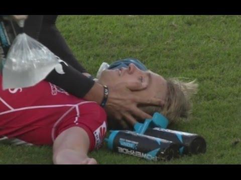 Willem Alberts explose un joueur | Biggest hit ever ?