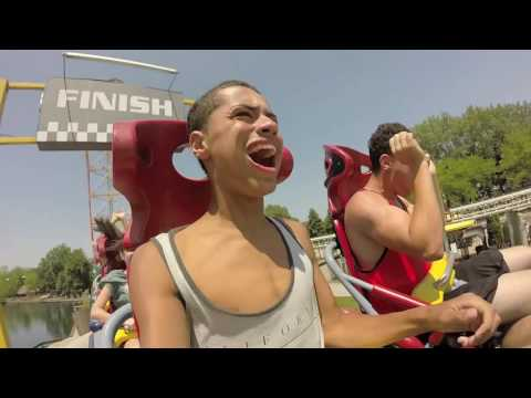 Top Thrill Dragster Front Row at Cedar Point