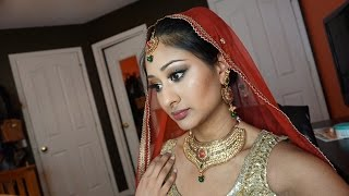 Indian/South Asian Bridal Makeup Tutorial! | Makeup By Megha