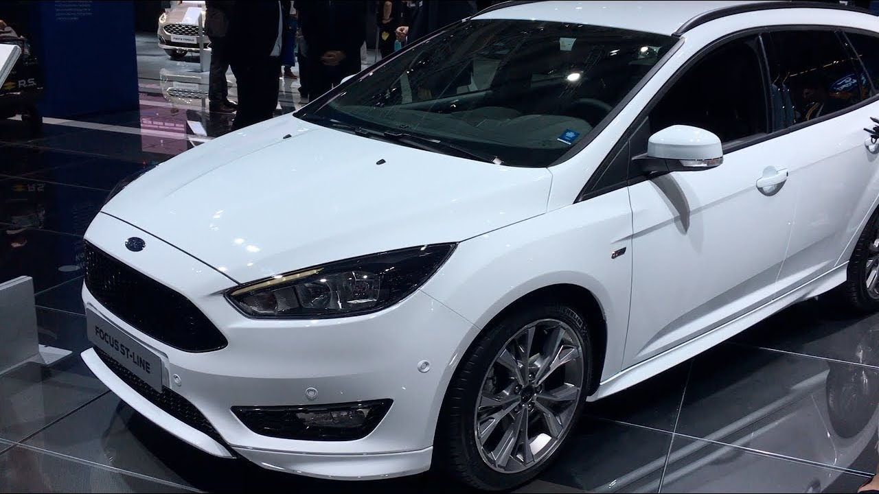Ford Focus St Line 2017 In Detail Review Walkaround Interior Exterior