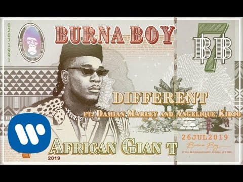 Burna Boy – Different (feat. Damian Marley and Angelique Kidjo) [Official Audio]