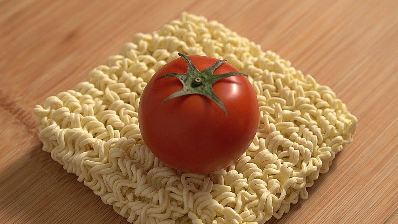 토마토 달걀 라면