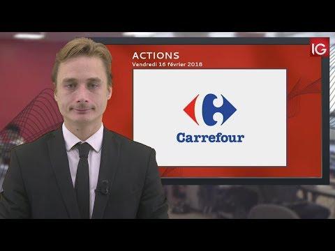 Bourse - Action Carrefour, changement de recommandation - IG 16.02.2018