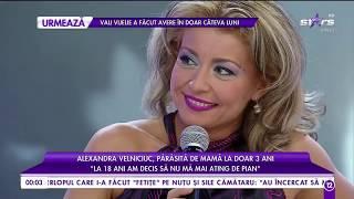"""Alexandra Velniciuc, părăsită de mamă la doar trei ani: """"A plecat din țară"""""""