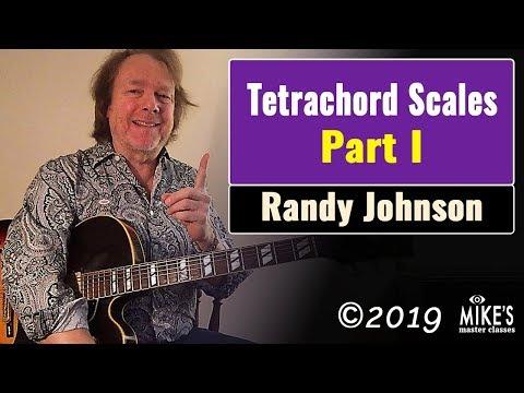 Tetrachord Scales - Part 1   Randy Johnston