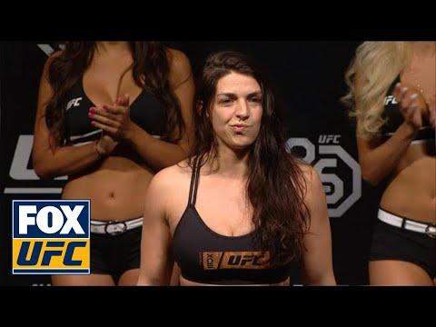 Mackenzie Dern missed weight by a lot   WEIGH-IN   UFC 224