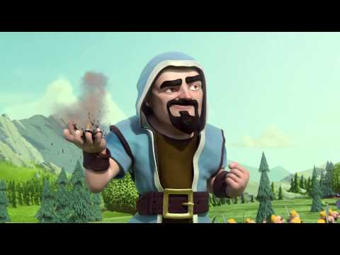 Clash of clans - Wizard Hair / Hype man (Animation)