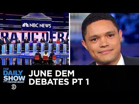Votegasm 2020: June Democratic Debates - Night One | The Daily Show
