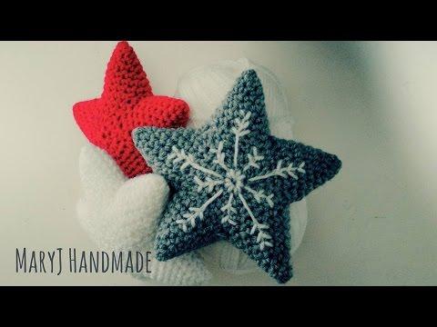 Tutorial Estrella Amigurumi Star : How to crochet an amigurumi star Tutorial in English ...