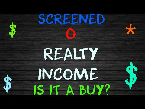 Screening O Realty Income Is It a Skip or Buy!