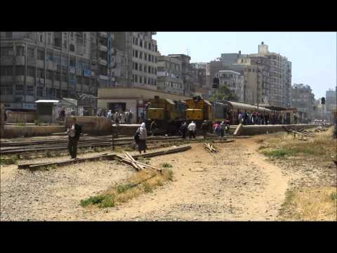 Egypt Railways - Egypt Trains - Trains in Alexandria