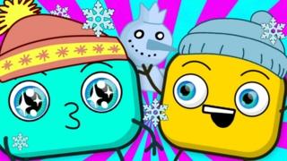 Мультфильмы Для Детей! Зимний Сборник #9 ❒ Кубики Мультфильм Онлайн