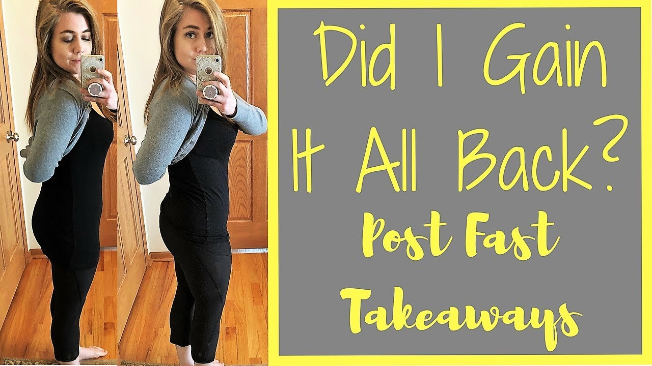 5-Day Water Fast - My Takeaways - Did I gain all the weight back? Will I do  it again?