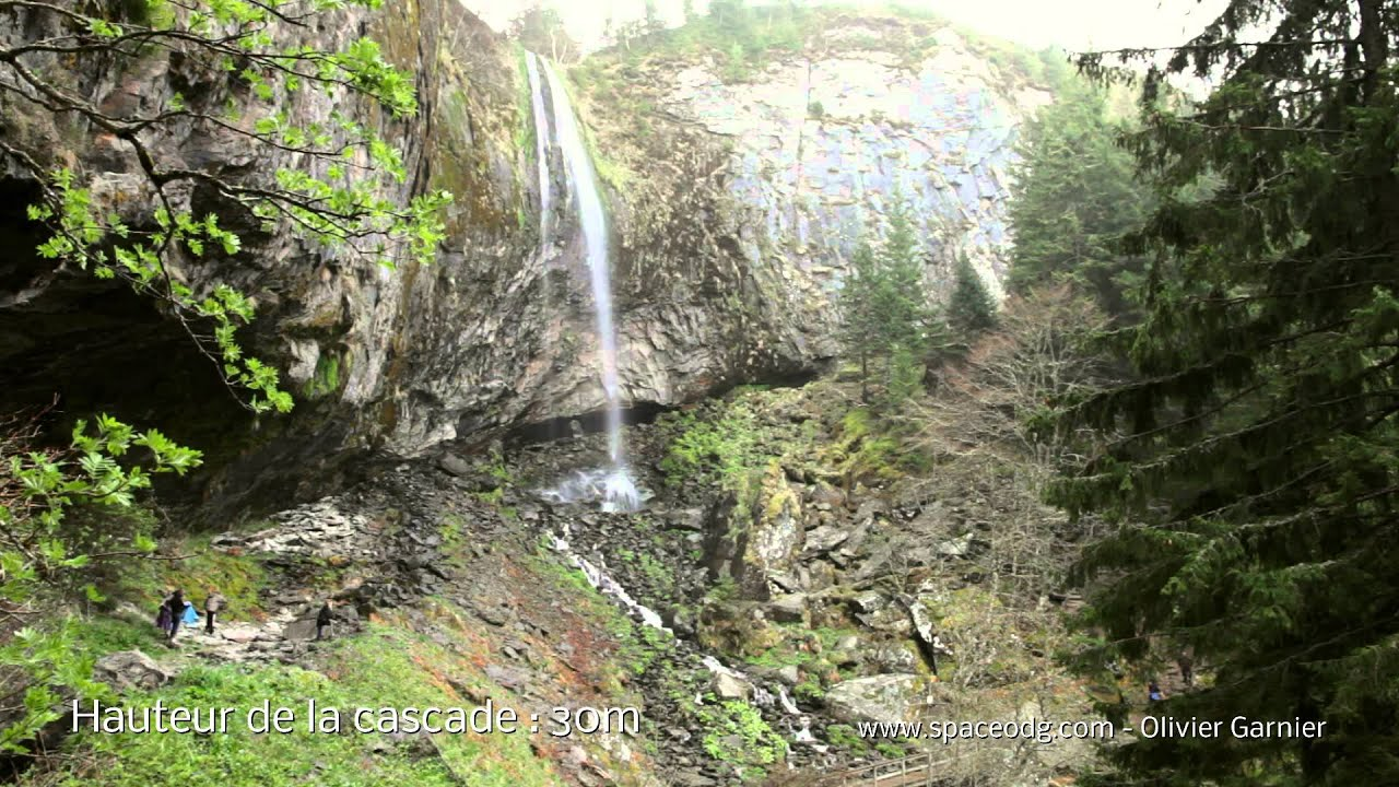 cascades d auvergne la grande cascade du mont dore 63
