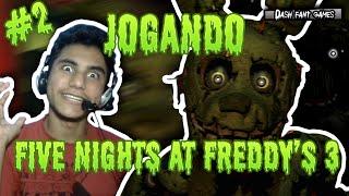 [Terror Indie Game] Jogando Five Nights At Freddy