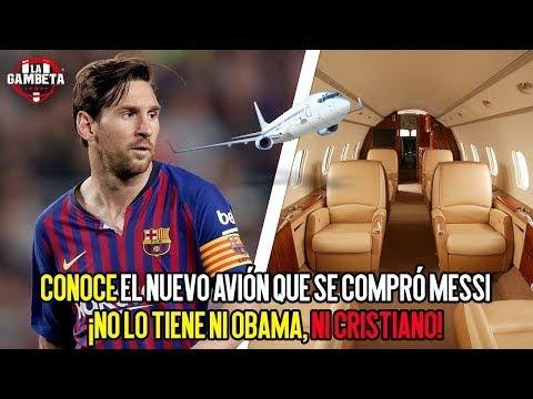Conoce el nuevo avión que se compró Messi No lo tiene Obama, ni Cristiano