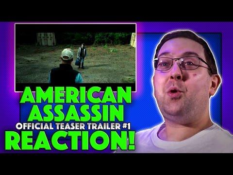 REACTION! American Assassin Official Teaser Trailer #1 - Taylor Kitsch Movie 2017