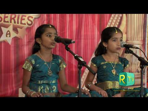 Rasika and Rathi - Singing in TV