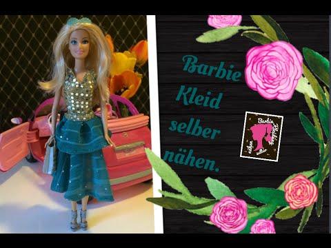 Barbie Kleid selber nähen