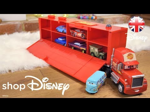 Shopdisney Cars Toys Mack Friction Motor Hauler Official Disney Pixar Uk Youtube