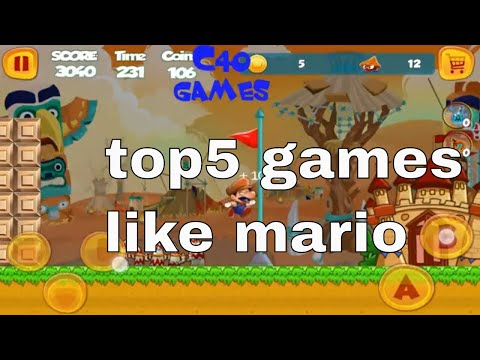 Top5 Android Games Like Mario