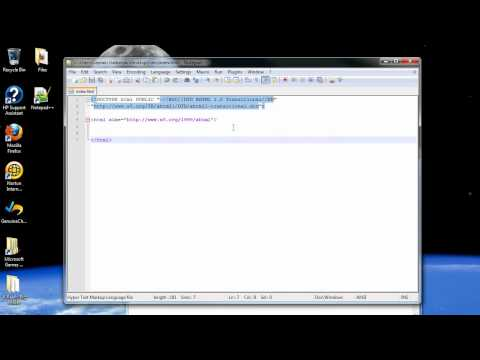 XHTML Tutorial 1 - Introduction In XHTML