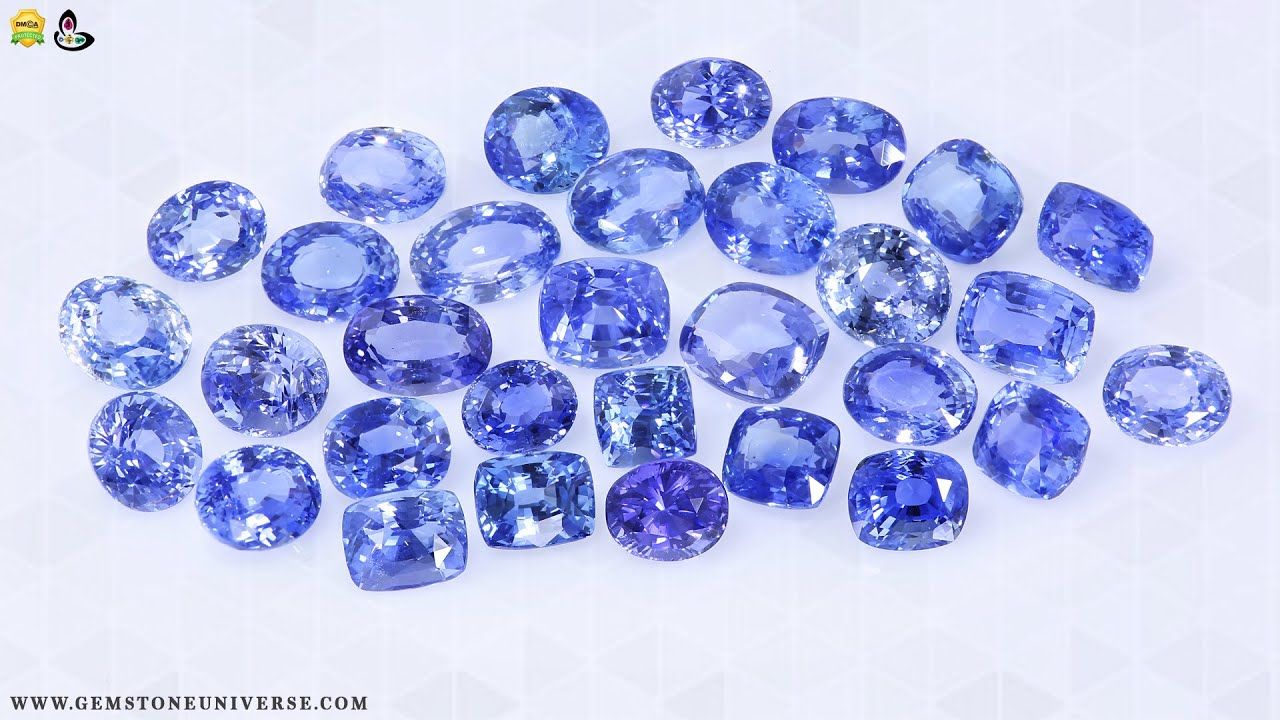 Neelam Ratna Finest Blue Sapphires For Jyotish Purposes
