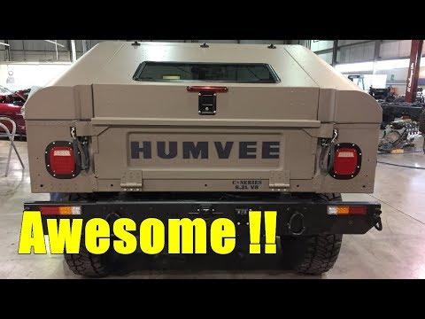 New 2018 Humvee C Series Hummer Concept - Broom Car