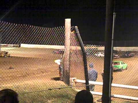 Mini stock feature race 10/12/12 part 1 @ western kentucky speedway