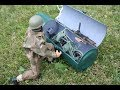 WWII 1/6 RC Welbike Motorcycle and British airborne rider.