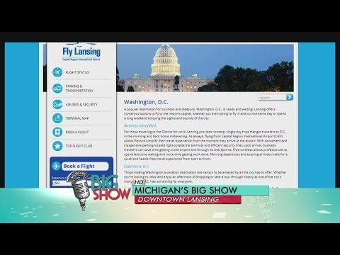 Low Rates and Direct Flights at Lansing Airport: Michigan's Big Show