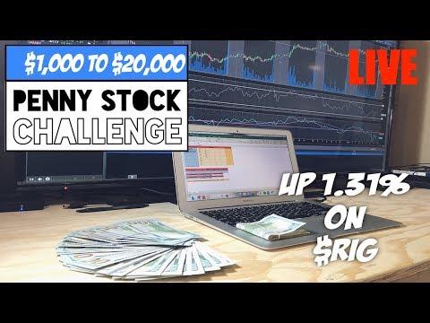 Live Trading: How To Trade Penny Stock | $1,000 Penny Stock Challenge