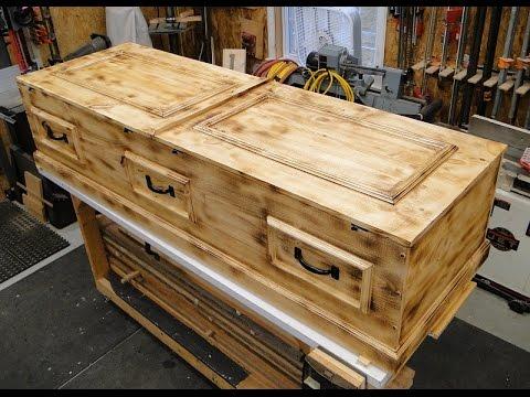 How To Build A Casket Diy Pine Box You