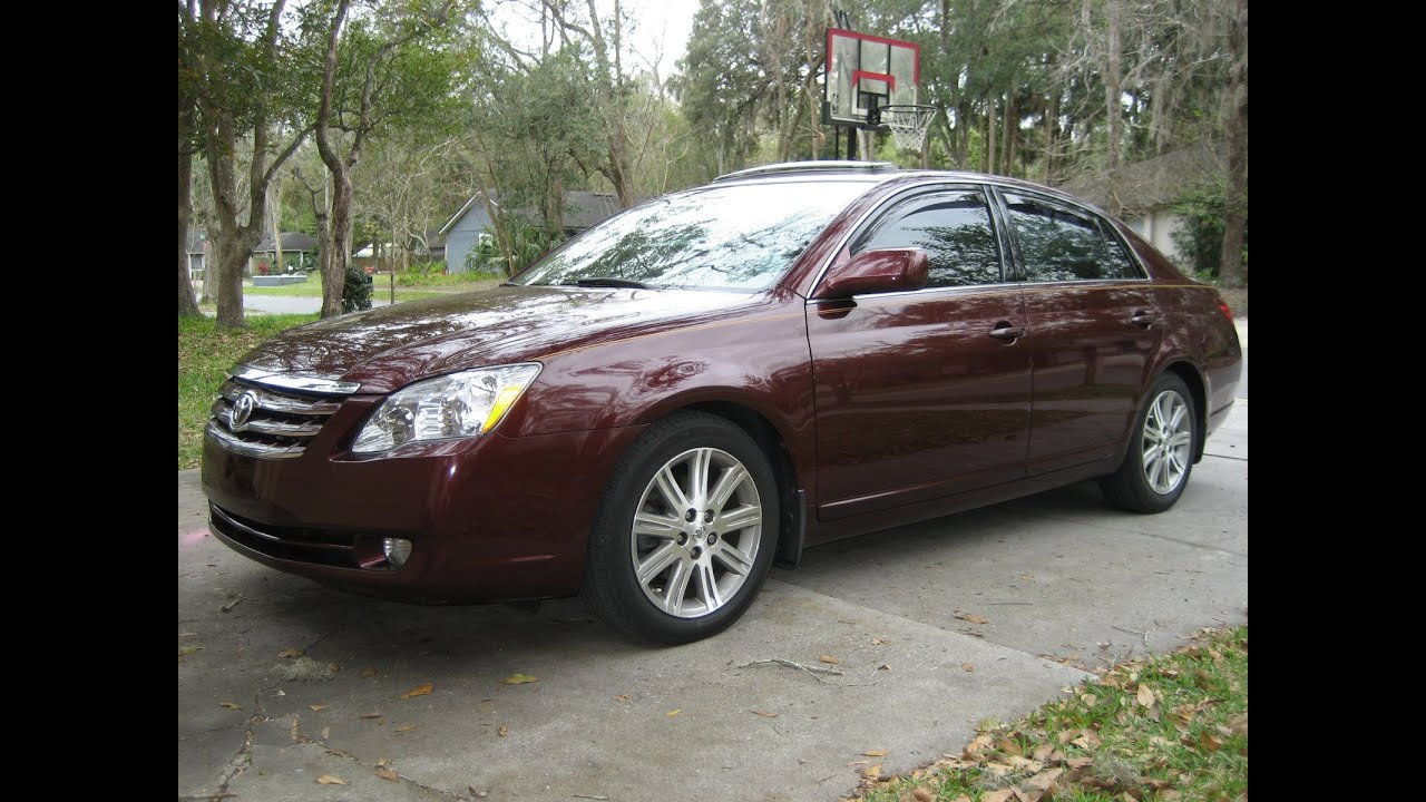 2007 Toyota Avalon Limited 1 Owner No Acc Fl Car Nav