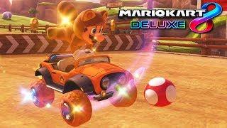 MARIO KART 8 DELUXE: ¡LA COMBINACIÓN DE MARIO TANOOKI! | Nintendo Switch