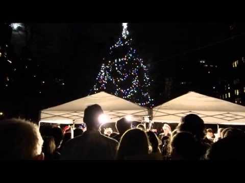 Gramercy Park Christmas Caroling NYC