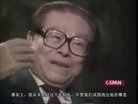 蛤主席怒斥香港记者_江泽民接受华莱士专访(中文字幕26分精简版) - YouTube