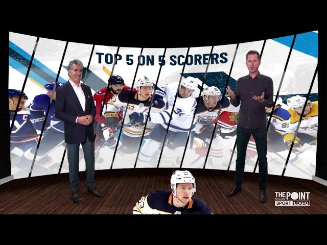 Top 5-on-5 Goal Scorers - Jeff Skinner