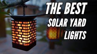 Best Outdoor Solar Lights 2020: Espier Flickering Candle Review