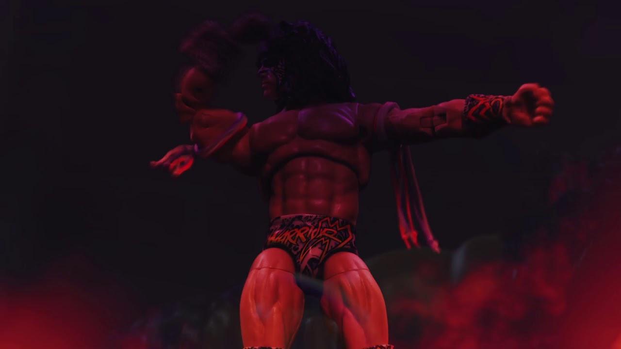 WWE Ultimate Edition Ultimate Warrior Action Figure - Mattel's WWE Figure Animation