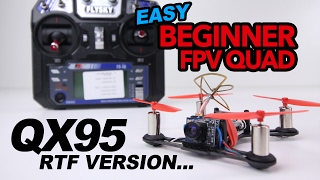 Download lagu EASY Beginner Fpv Drone QX95 ReviewFlight MP3