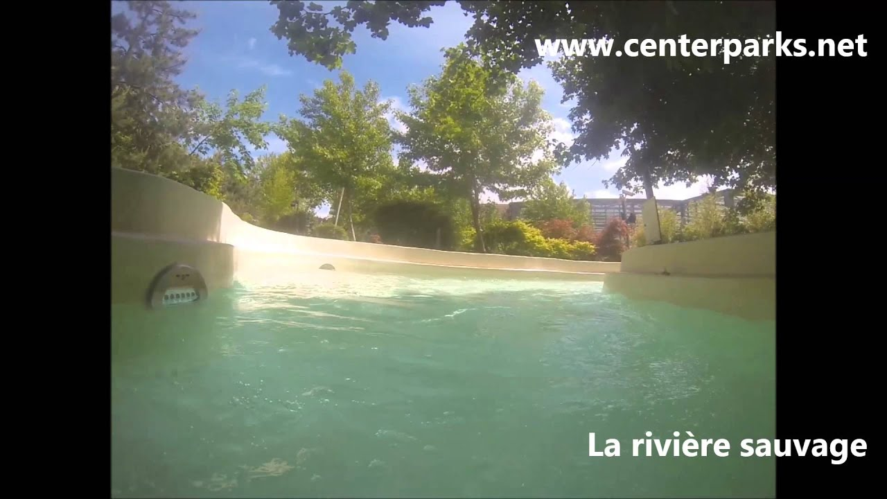 Center parcs 202 Aisne La rivi u00e8re sauvage center parcs ailette YouTube # Riviere Sauvage Bois Aux Daims