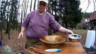 Блюдо для плова деревянное обрабатываем Чо ПОХАВАТЬ  #чопохавать #11