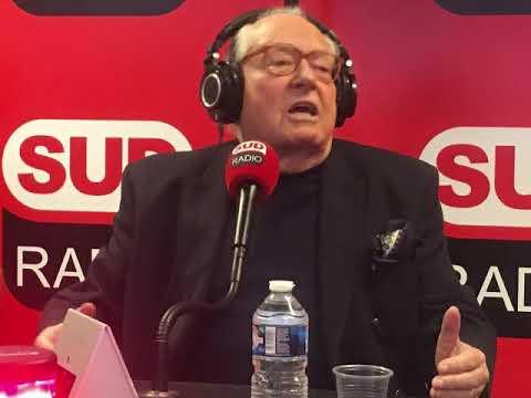 André Bercoff Recevait Jean Marie Le Pen sur Sud Radio