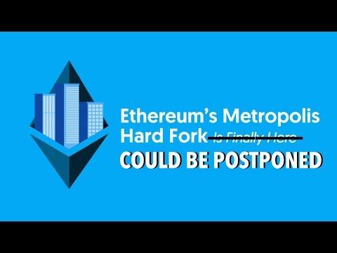 Ethereum Metropolis / Byzantium Hard Fork Could Be Postponed | Selling My Ethereum Position