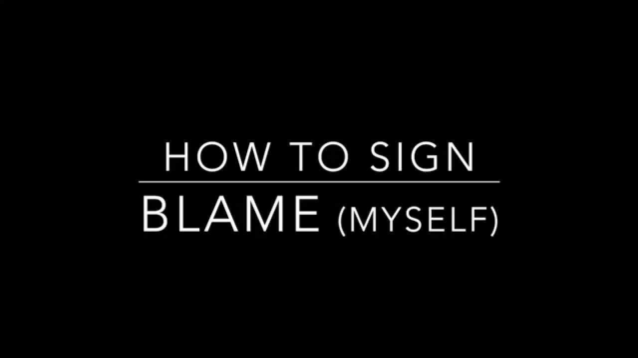 Image result for blame word