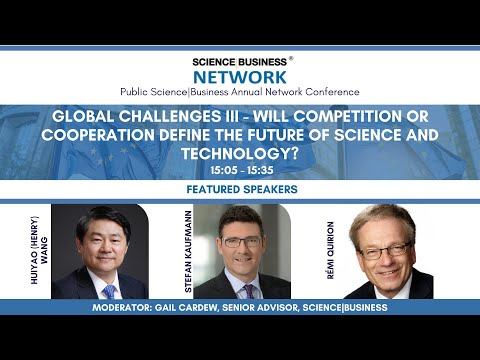 Global Challenges III : Will competition or cooperation define the future of science and technology?