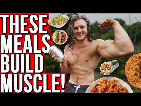 TOP 10 BEST VEGAN MEALS FOR MUSCLE!