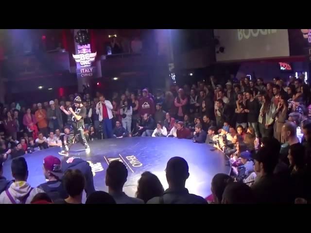 BoogieGun vs Daga - Red Bull BC One Italy Cypher 2015 Quarti di finale